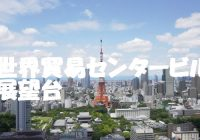 東京の景色を独り占め、隠れた展望台、世界貿易センタービル40F展望台シーサイドトップ にどあそと!
