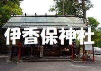 伊香保温泉の石段365段の最上段に鎮座する伊香保神社へどあそと‼