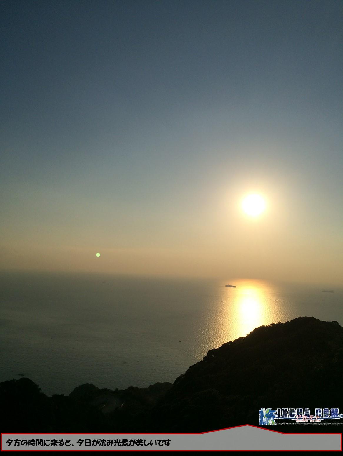 夕方の時間に来ると、夕日が沈み光景が美しいです