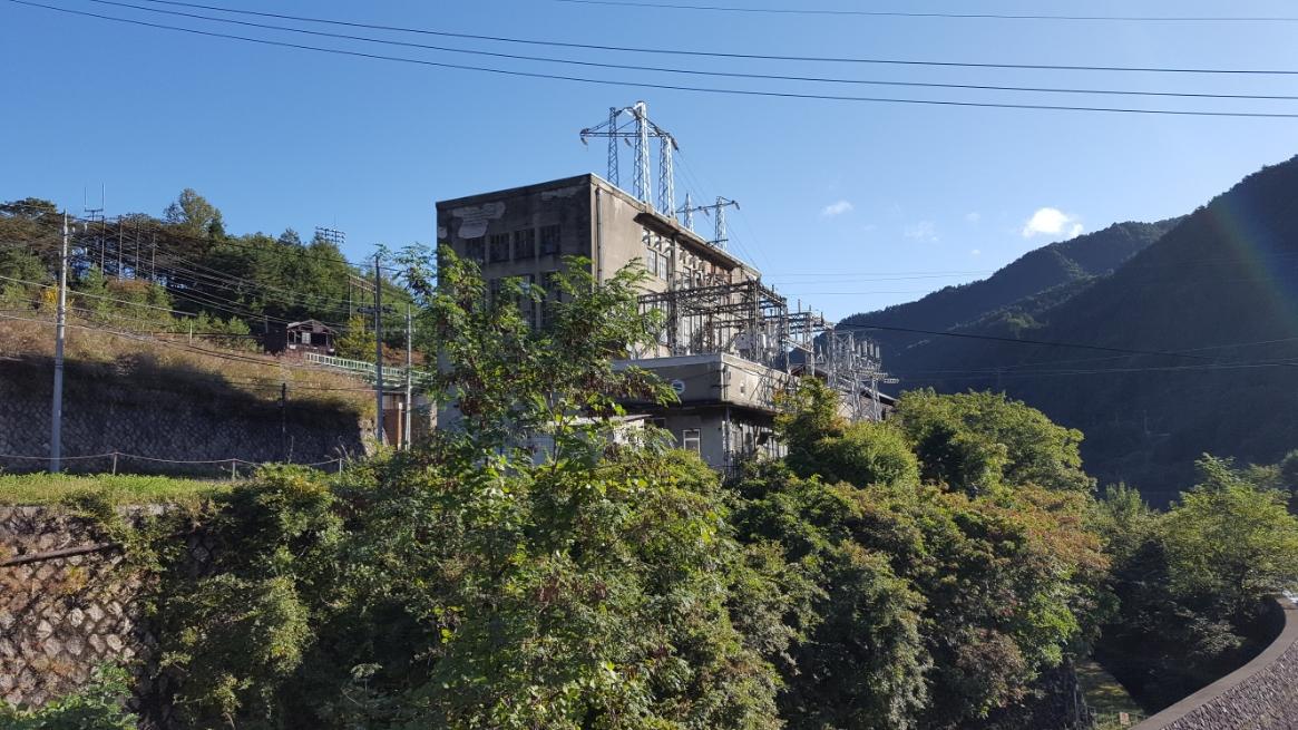 「通洞変電所」の別景