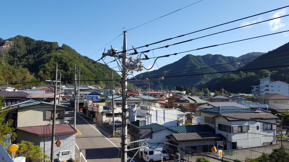 先ずは足尾銅山の街並みを見て回ります。
