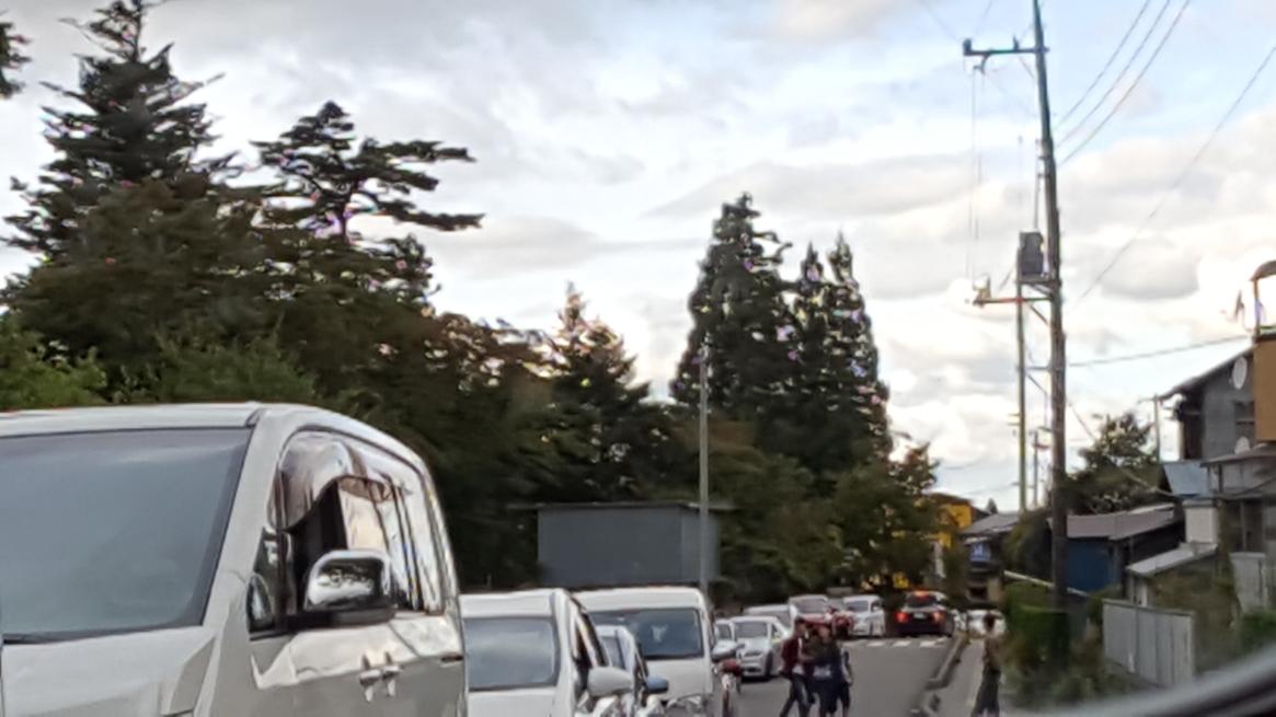 日光東照宮の渋滞