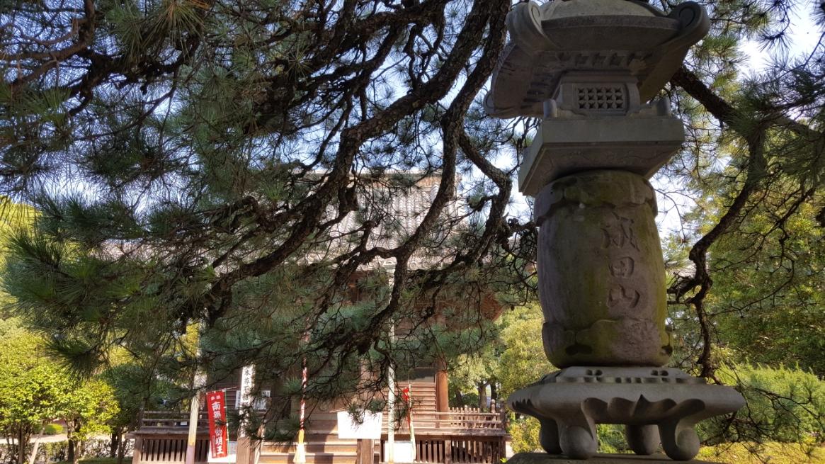 成田山の文字が気になる御堂にがあります。