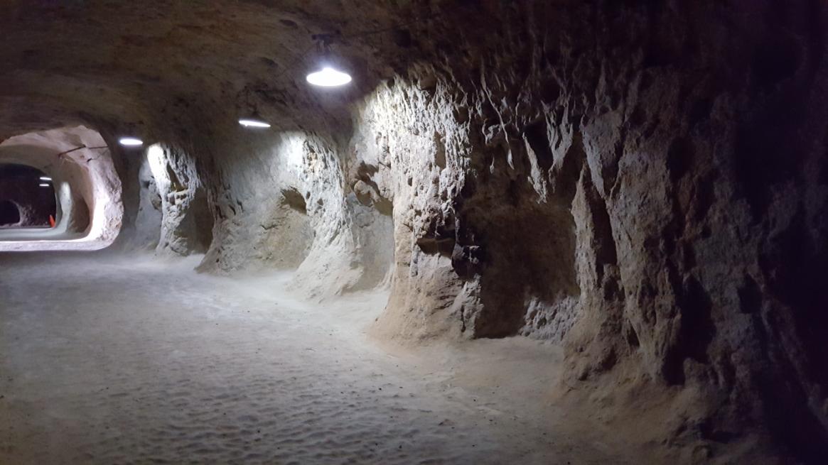 この「地下軍需工場跡」は第二次大戦中に、この山の地下に中島飛行機の地下軍需工場を建設するため、朝鮮人労働者が3000人程動員され大きなトンネルが碁盤の目状に掘られました。 現代の様な掘削技術も無い時代の為、手掘りでの掘削作業は非常な危険を伴い、一説には多くの朝鮮人が崩落によって命が絶たれたと伝わります。