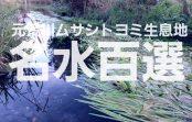 【写真で観る】埼玉県熊谷市の住宅街にある平成の名水百選に選ばれた「元荒川ムサシトヨミ生息地」を徹底解説!!
