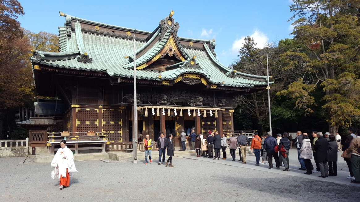 三嶋大社本殿、幣殿及び拝殿