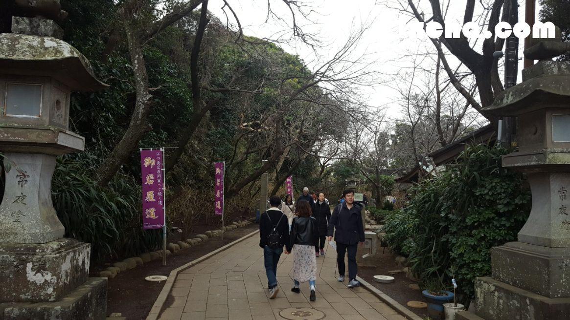 江島神社-奥津宮