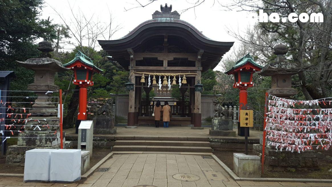奥津宮-拝殿