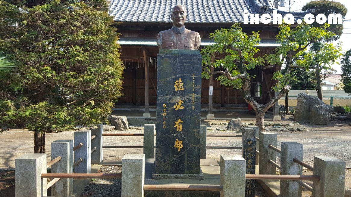 蒋介石胸像