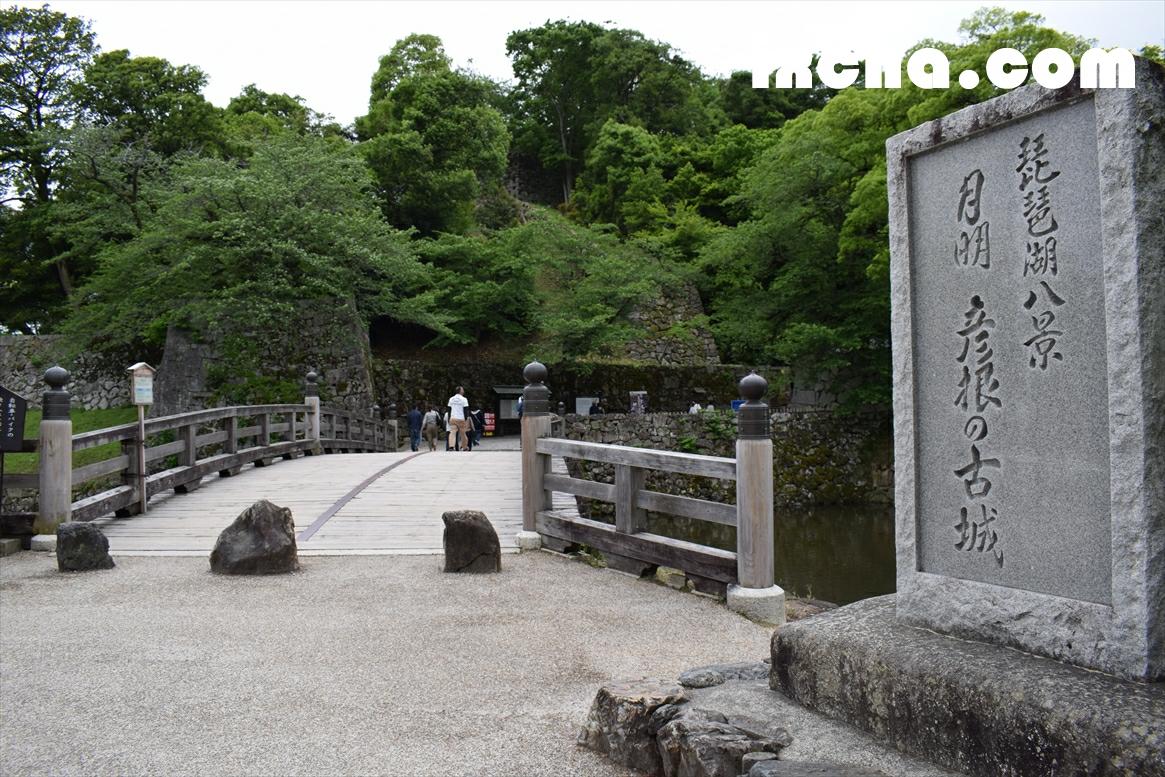 彦根城入り口