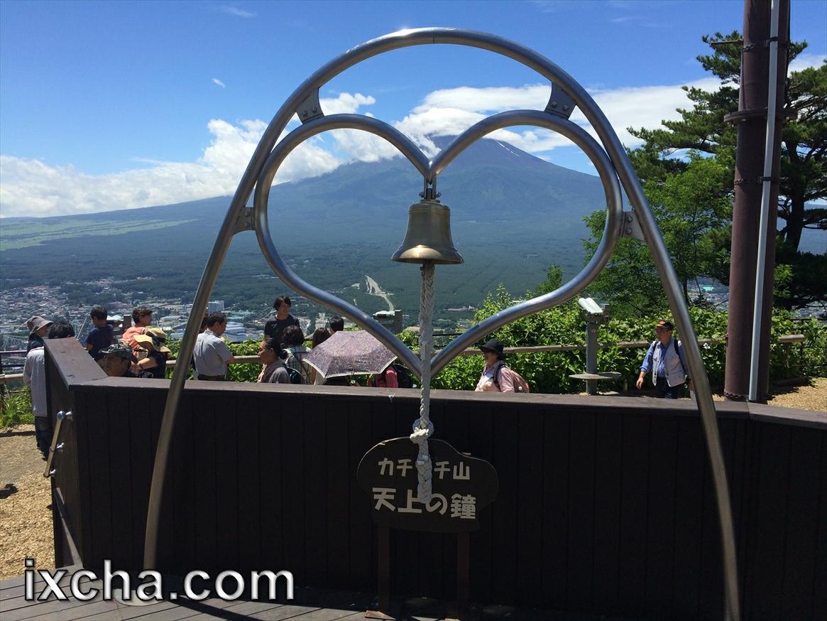 カチカチ山天上の鐘