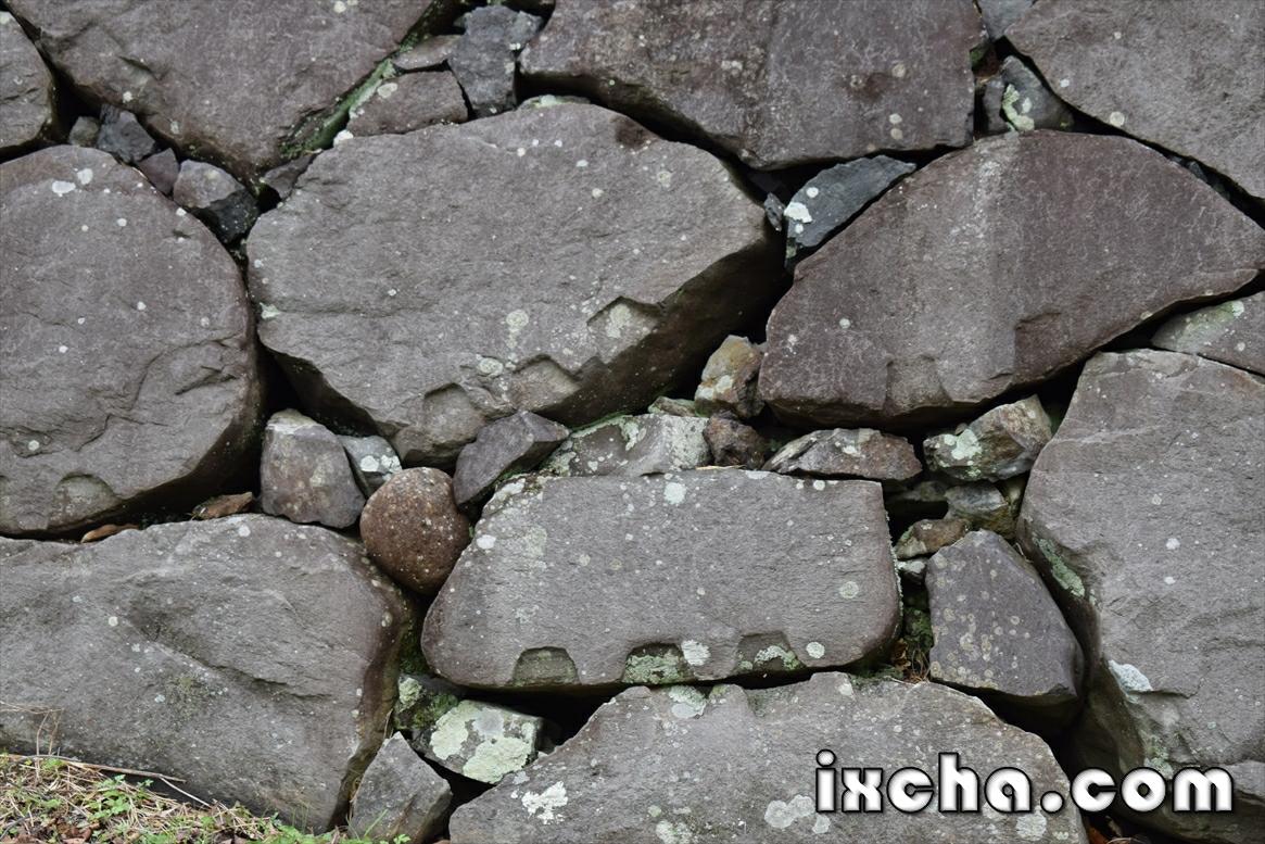 石材加工痕跡