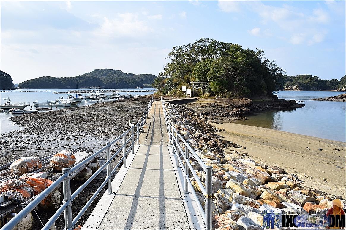 恵比須神社への道