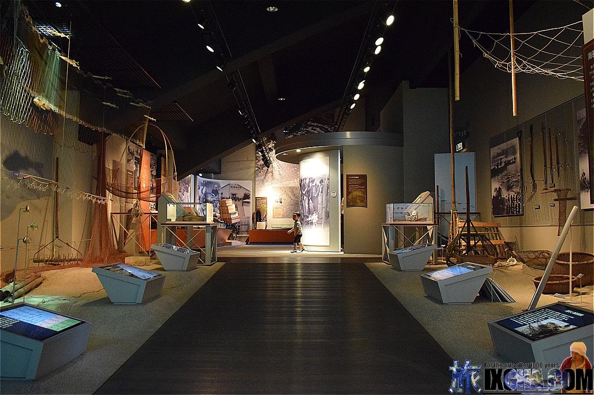 漁師展示物
